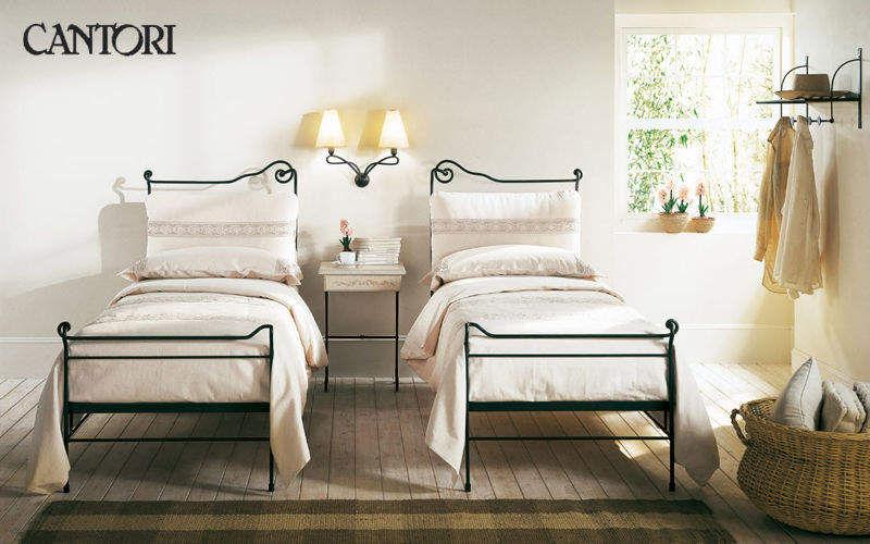 Cantori Cama individual Camas individuales Camas Dormitorio | Rústico