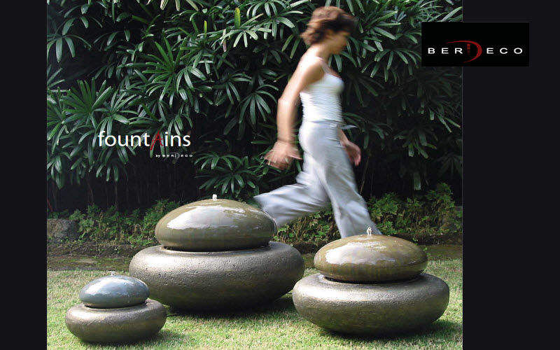 BERDECO Fuente exterior Fuentes Jardín Jardineras Macetas  Terraza   Design Contemporáneo