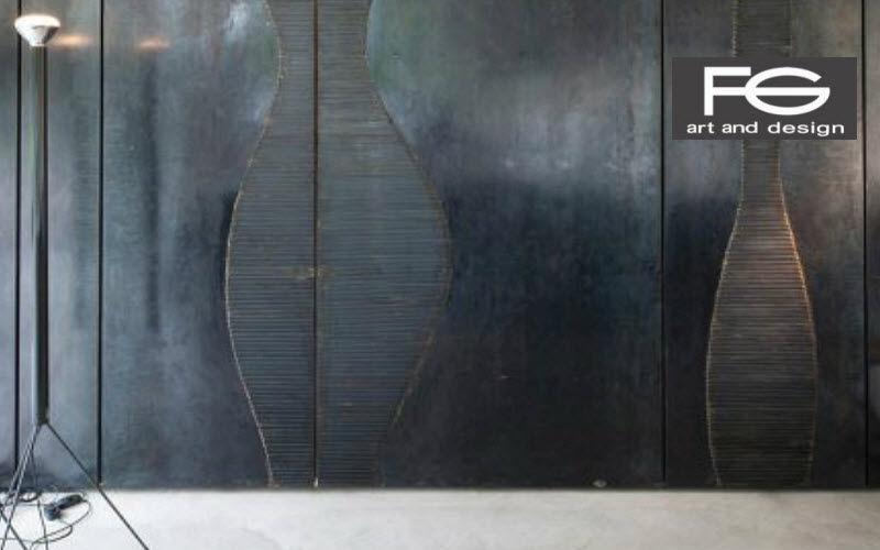 FG ART&DESIGN Carpintería Revestimientos, artesonados y chapados Paredes & Techos Despacho | Design Contemporáneo