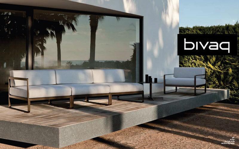 BIVAQ Sofá para jardín Salones completos de jardín Jardín Mobiliario  |