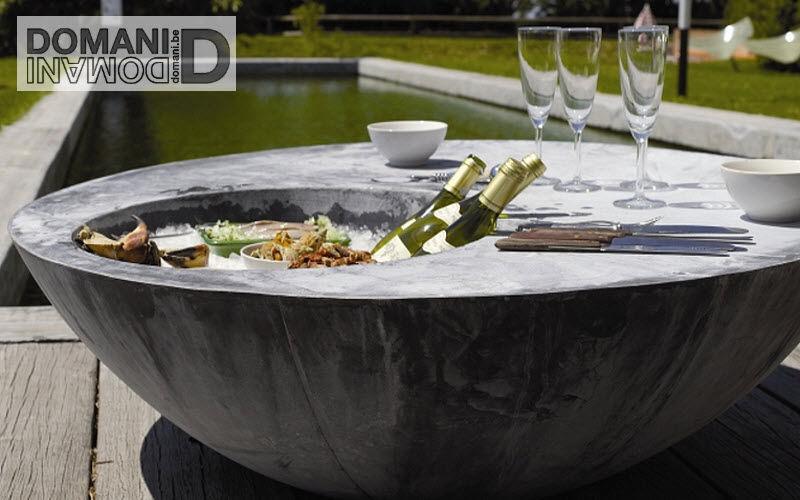 Domani Mesa baja de jardín Mesas de jardín Jardín Mobiliario Terraza | Design Contemporáneo