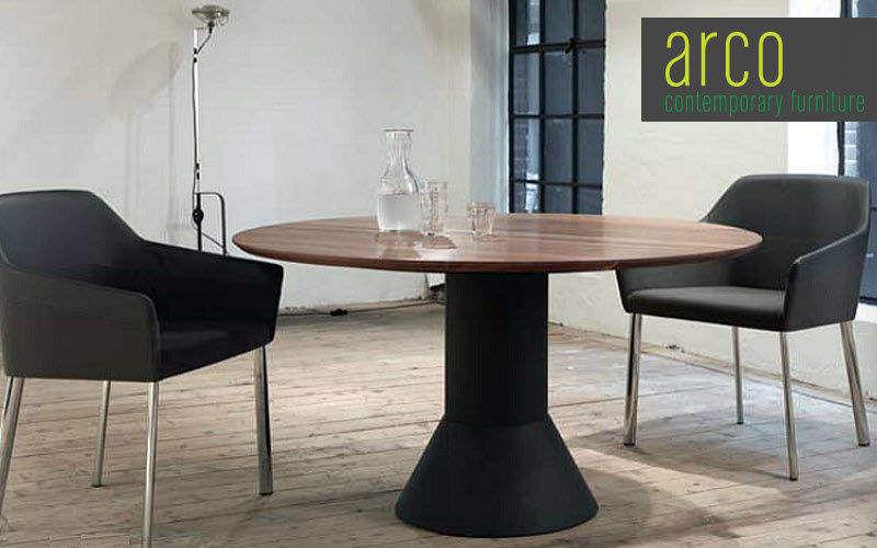 Arco Mesa de comedor redonda Mesas de comedor & cocina Mesas & diverso Comedor   Design Contemporáneo