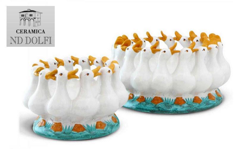Ceramica Nd Dolfi Centro de mesa Decoraciones de mesa Mesa Accesorios  |