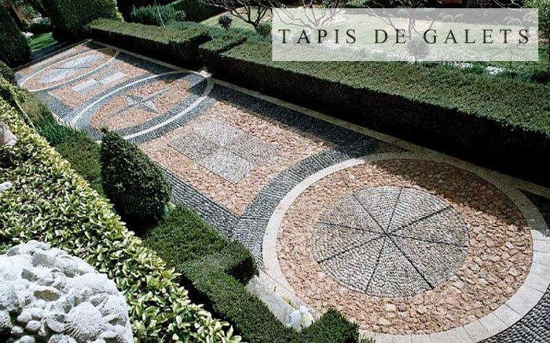 les tapis de galets Suelo de guijarros Revestimientos para suelos Suelos  |