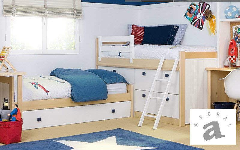 ASORAL Habitación juvenil 11-14 años Dormitorio infantil El mundo del niño  |
