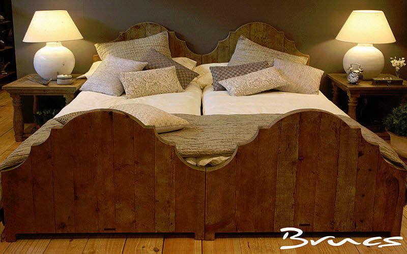 BRUCS Cama individual Camas individuales Camas Dormitorio | Rústico
