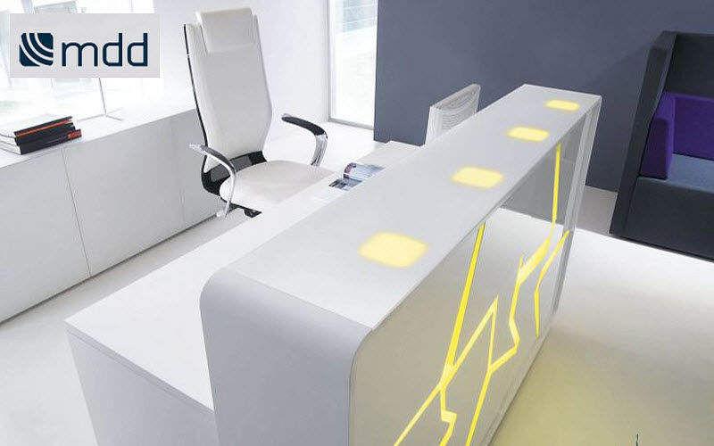 MDD Mostrador de recepción Mesas y escritorios Despacho  |