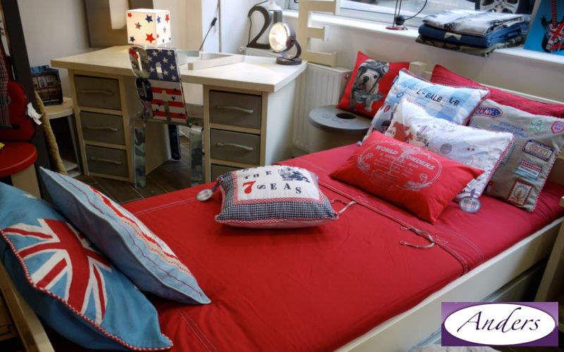 Anders-Paris Cama para niño Dormitorio infantil El mundo del niño  |