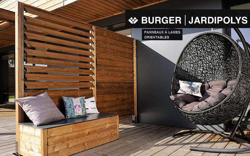 Burger Panel paravistas Vallas, cercados & setos divisorios Jardín Cobertizos Verjas...  |