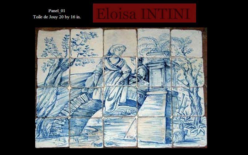 BOTTEGA DELLE ARTI ANTICHE Panel de cerámica Azulejos para paredes Paredes & Techos  |