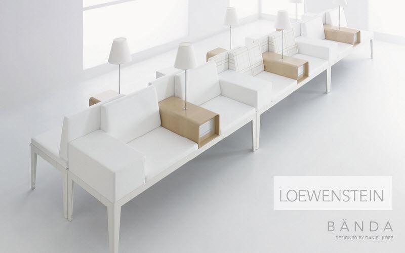 Loewenstein Silla de espera Sillas de oficina Despacho  |