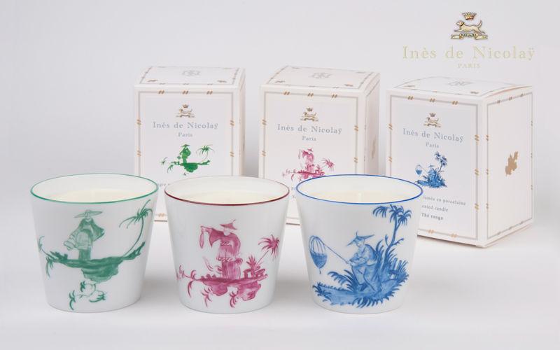 Inès de Nicolaÿ Caja de velas Perfumes florales Flores y Fragancias  |