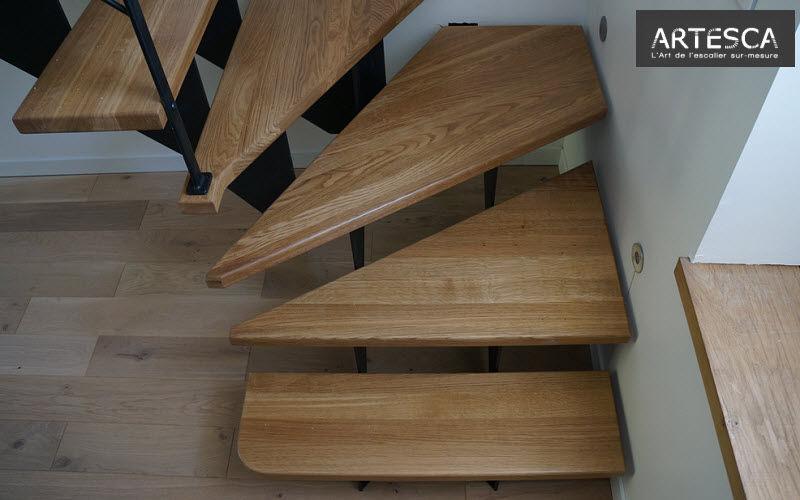 ARTESCA Escalera con tramo curvo Escaleras/escalas Equipo para la casa  |