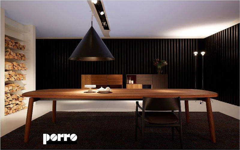 Porro Mesa de comedor rectangular Mesas de comedor & cocina Mesas & diverso Comedor   Design Contemporáneo
