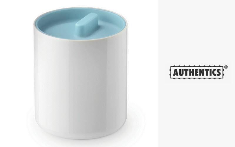 Authentics Tarro para algodón Botes & frascos Baño Sanitarios  |