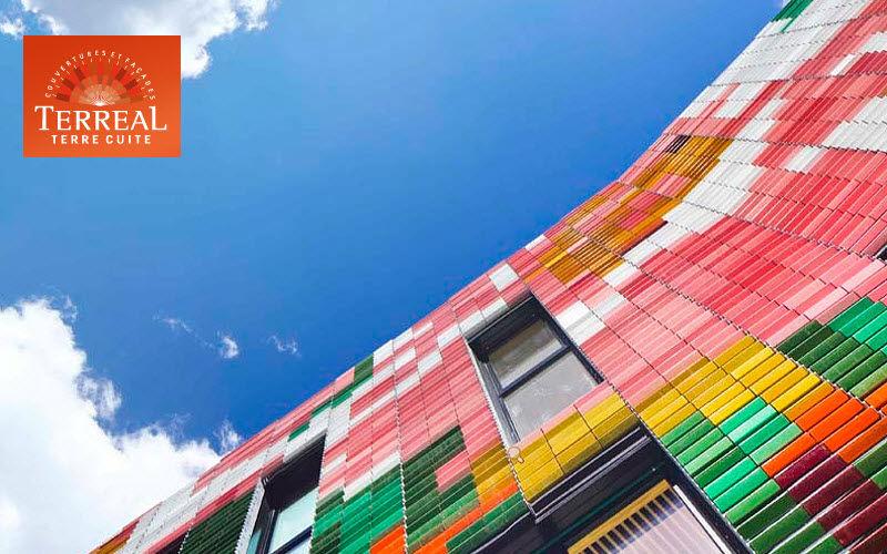 Terreal Decoración para fachada Muros exterior Paredes & Techos  |