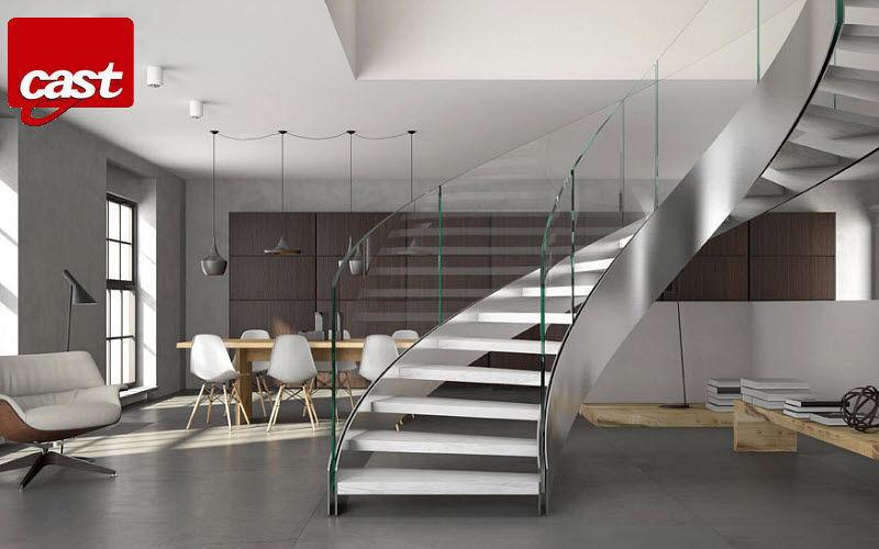CAST Escalera dos cuartos de giro Escaleras/escalas Equipo para la casa  |
