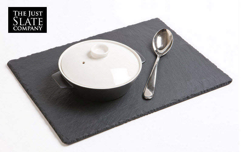 THE JUST SLATE COMPANY Salvamantel Bajo-platos Mesa Accesorios  |