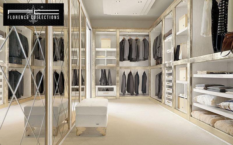 FLORENCE COLLECTIONS Vestidor en U Prendas de vestir Vestidor y Accesorios Dormitorio | Design Contemporáneo