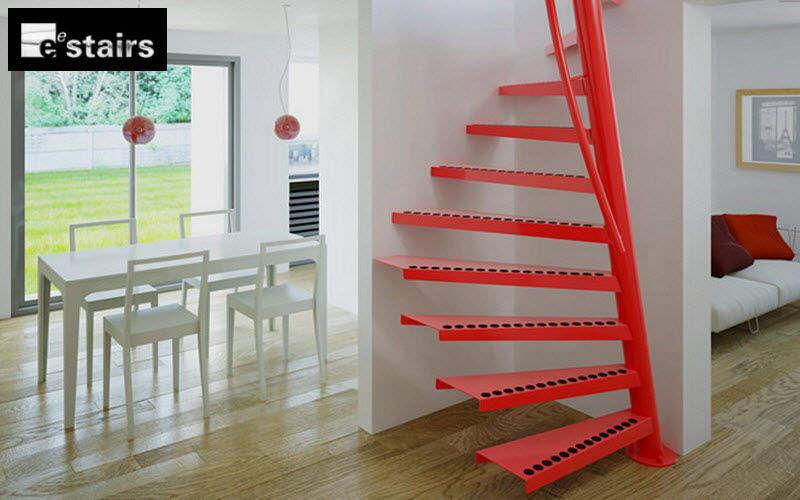 EESTAIRS Escalera helicoidal Escaleras/escalas Equipo para la casa  |