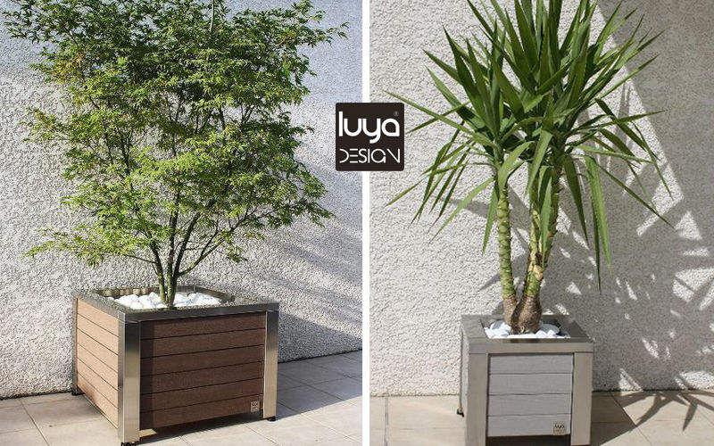 LUYA DESIGN Maceta para árbol Macetas Jardín Jardineras Macetas  |