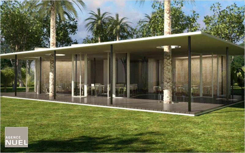 Agence Nuel / Ocre Bleu Realización de arquitecto Realizaciones de arquitecto Casas isoladas  |