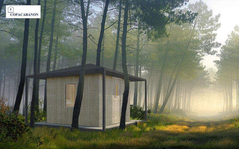 COPACABANON Casa de madera Casas individuales Casas isoladas  |