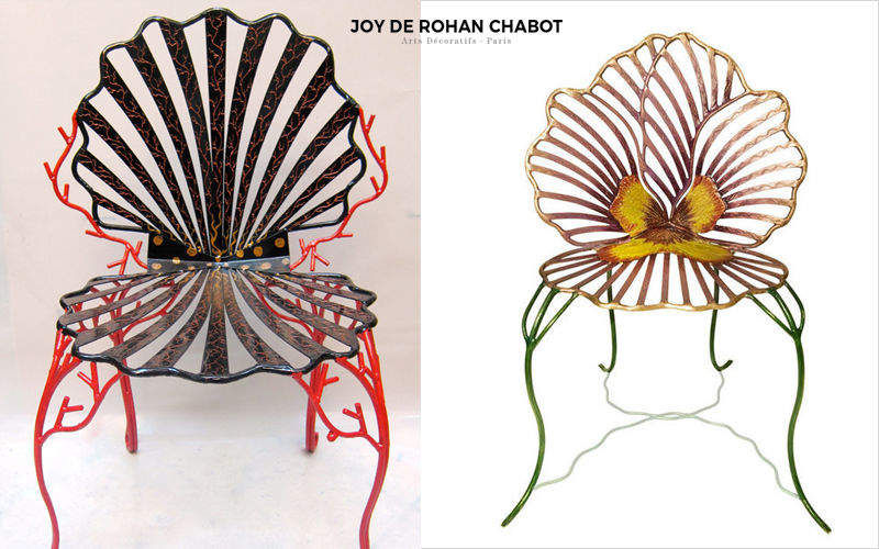 JOY DE ROHAN CHABOT Silla de jardín Sillas de jardín Jardín Mobiliario  |