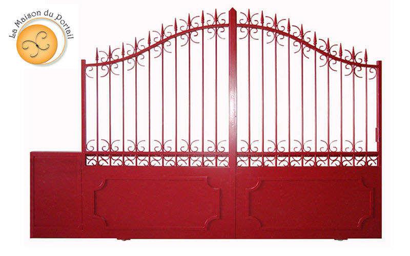La Maison du portail Verja corredera Pórticos Jardín Cobertizos Verjas...  |