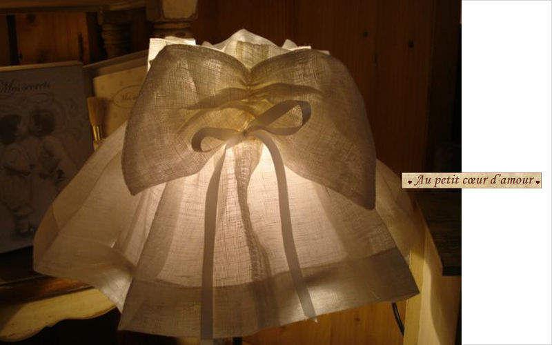 au petit coeur d'amour Pantalla de tela Pantallas de lamparas Iluminación Interior  |