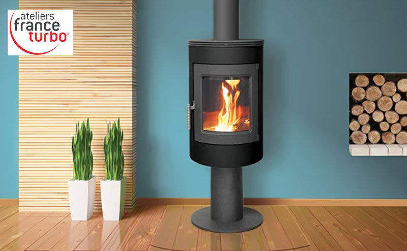 France Turbo Estufa de madera Estufas e instalaciones de calefacción Chimenea   