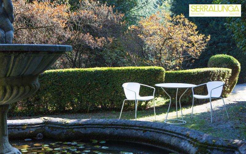 Serralunga Mesa de jardín redonda Mesas de jardín Jardín Mobiliario  |