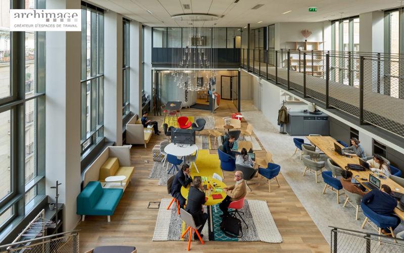 ARCHIMAGE diseño de oficina Realizaciones de arquitecto de interiores Casas isoladas   