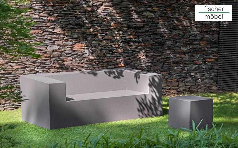 Fischer Mobel Sofá para jardín Salones completos de jardín Jardín Mobiliario  |