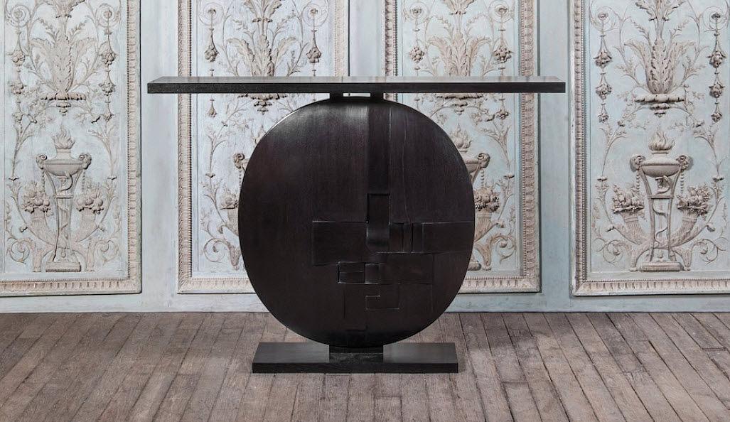 Galerie Yves Gastou Consola Consolas Mesas & diverso   