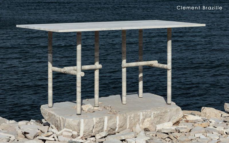 CLEMENT BRAZILLE Mesa de comedor rectangular Mesas de comedor & cocina Mesas & diverso  |