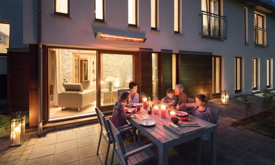 Alpina Grills Caleffación eléctrica para terraza Calefacción de exterior Jardín Diverso  |