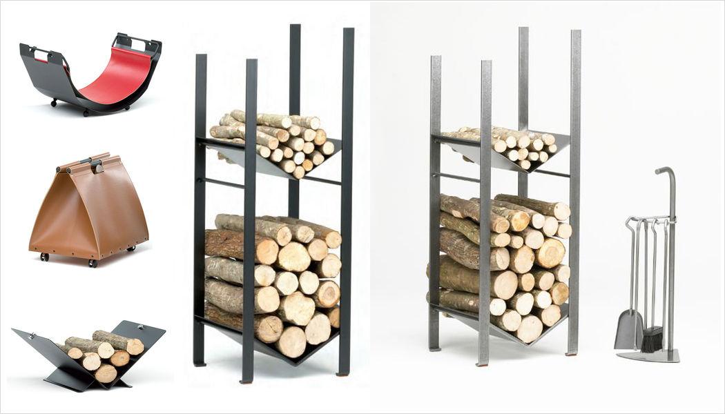 Reignoux Creations portador de troncos Accesorios de chimenea Chimenea  |