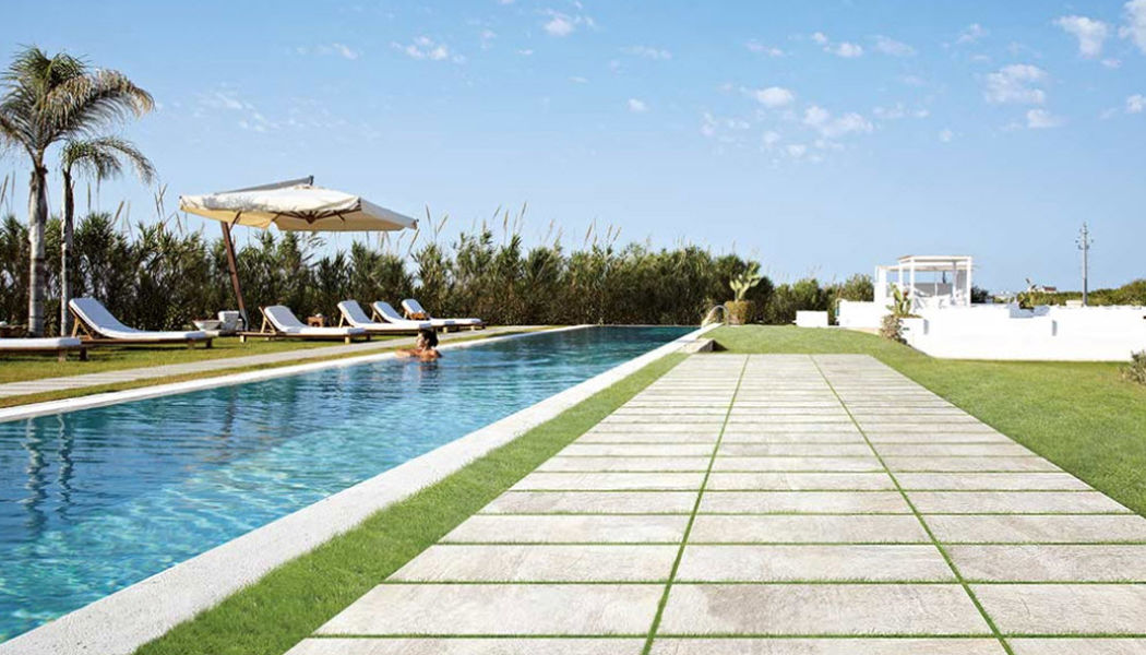 REX CERAMICHE ARTISTICHE Playa de piscina Brocales & plataformas Piscina y Spa Jardín-Piscina | Design Contemporáneo