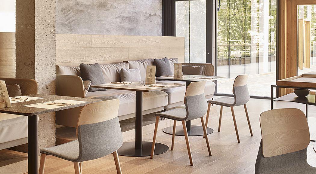 Sokoa Silla para restaurante Sillas Asientos & Sofás Comedor | Design Contemporáneo