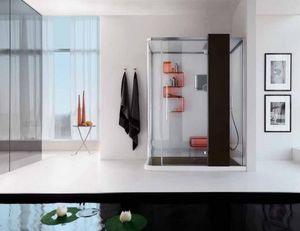 Cabina de ducha de ángulo