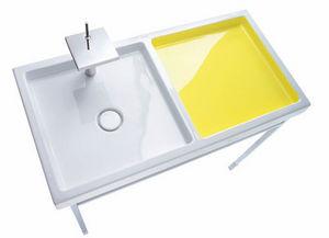 Mueble de baño dos senos