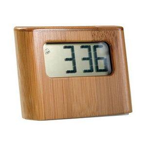 Delta - pendule de bureau solaire bambou - Despertador