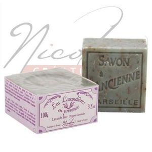 NICOLOSI CREATIONS - savon de marseille aux huiles essentilles de lavan - Jabón