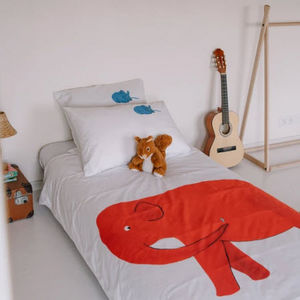 LA CHAMBRE PARIS - elephant - Funda Nórdica Para Niño