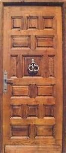 Entreprise Provencale De Menuiserie -   - Puerta Descansillo Maciza