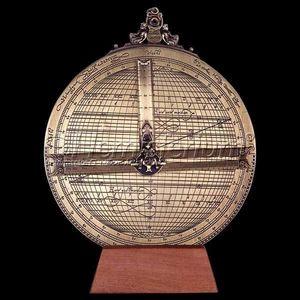 HEMISFERIUM - astrolabe universel de rojas - Astrolabio