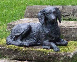 BARBARA ISRAEL GARDEN ANTIQUES - zinc dog - Escultura De Animal