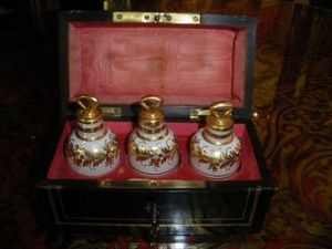 Art & Antiques - coffret à senteurs napoléon iii - Estuche Para Perfume