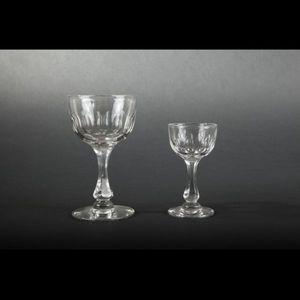 Expertissim - service de verres à pied - Servicio De Vasos